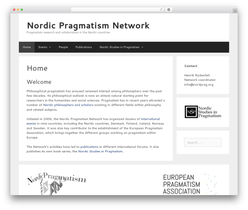 GeneratePress WordPress template free download - nordprag.org