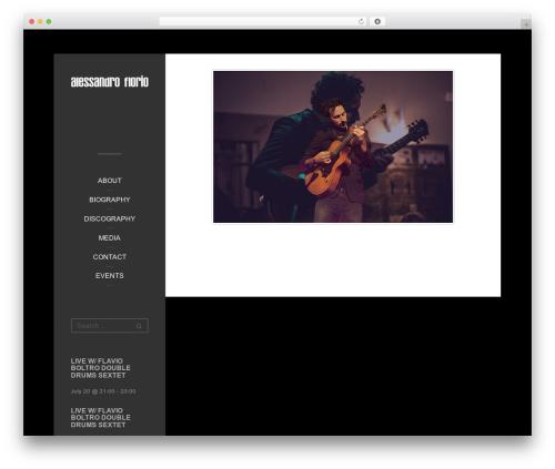 Impronta WordPress theme - alessandroflorio.com