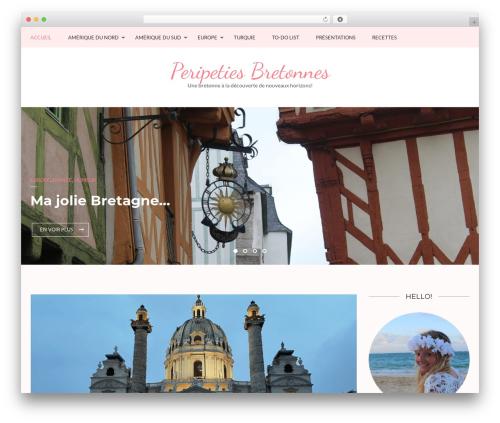 Kalon best free WordPress theme - peripetiesbretonnes.com