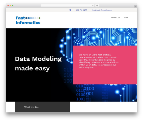 Kira Lite WordPress theme - fastinformatics.com