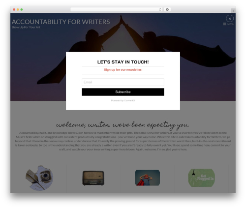 MinimalZerif theme WordPress - accountabilityforwriters.com