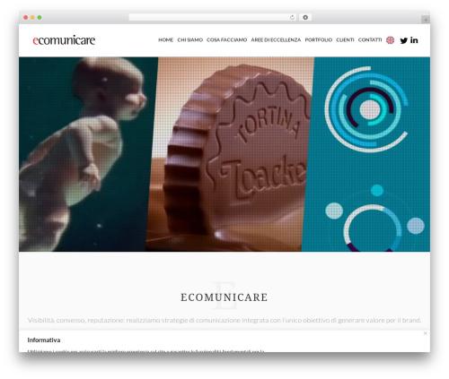 Nation best WordPress theme - ecomunicare.com