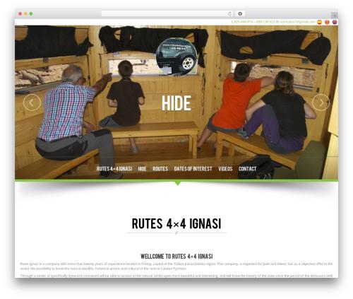NatureWPThemes premium WordPress theme - rutas4x4ignasi.com