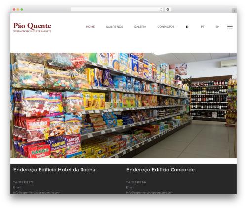 Optima WordPress template - supermercadopaoquente.com