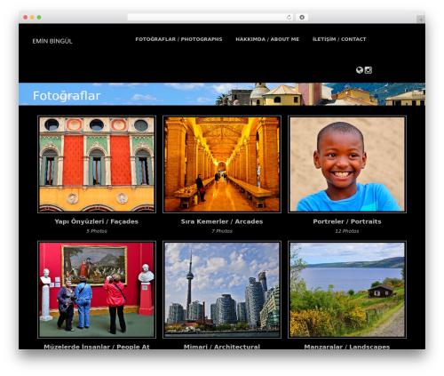 Premium Photography theme free download - eminbingul.com