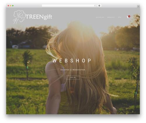 ShopIsle best WooCommerce theme - treengift.com