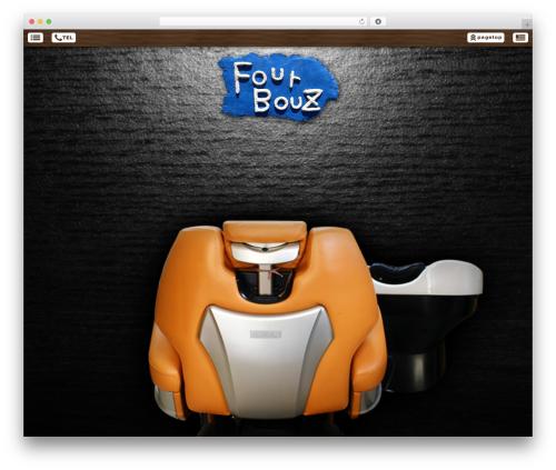 Smartpress template WordPress free - fourbouz.com