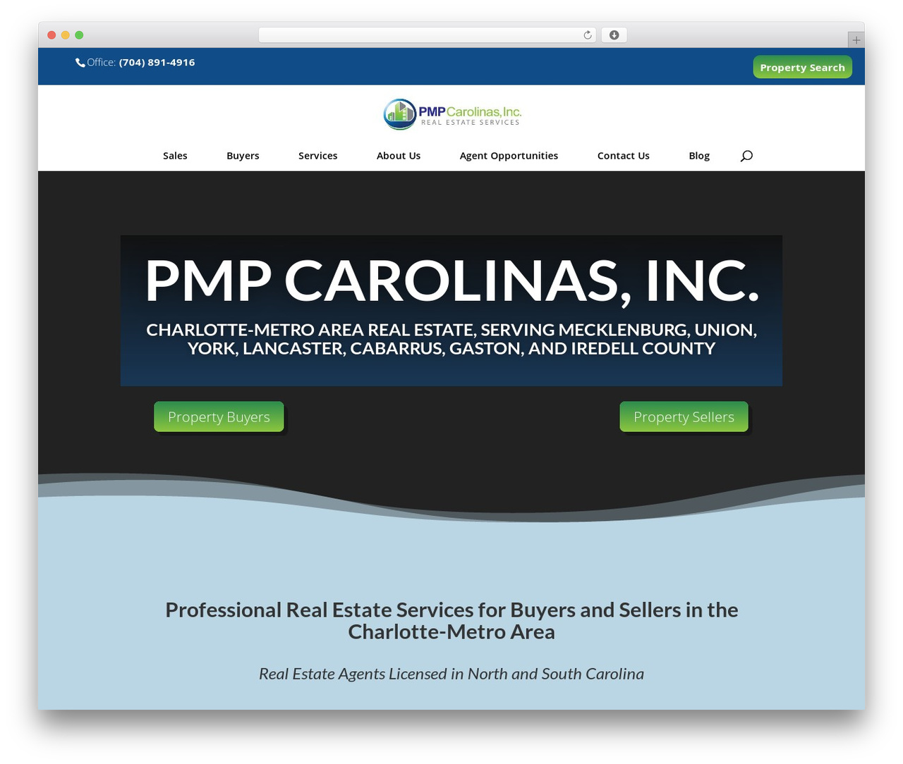 Theme WordPress Divi - pmpcarolinas.com