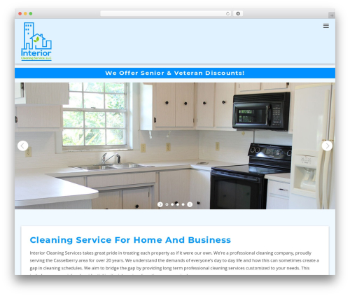 Themify Ultra WordPress template for business - interiorcleaningservice.com