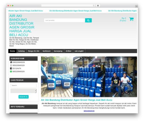 WP-Lancar WordPress page template - airakibandung.com