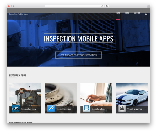 WordPress applay-showcase plugin - inspection-mobile-apps.com