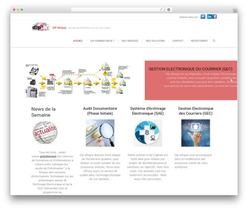 Free WordPress CodeFlavors floating menu plugin - dipafrica.com