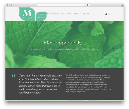 Avanti WordPress template - mintpa.com
