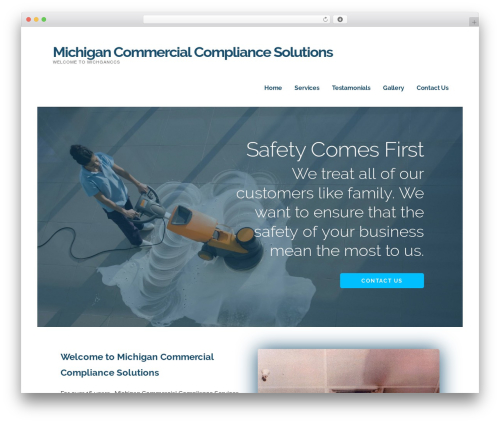 Best WordPress theme Ascension - michiganccs.com