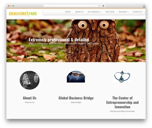 Customizr premium WordPress theme - educatorspark.com