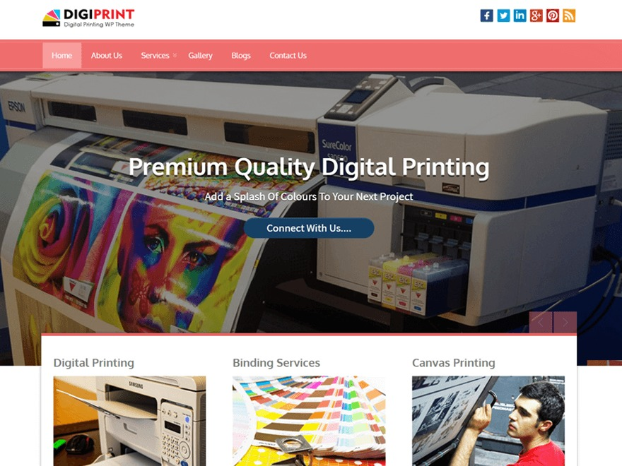 Digiprinting Pro best WordPress gallery
