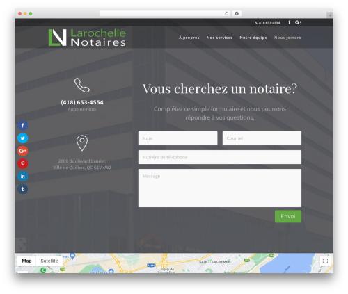 WordPress slick-popup-pro plugin - larochellenotaires.com