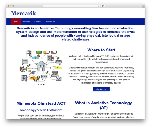 GeneratePress free website theme - mercarik.com