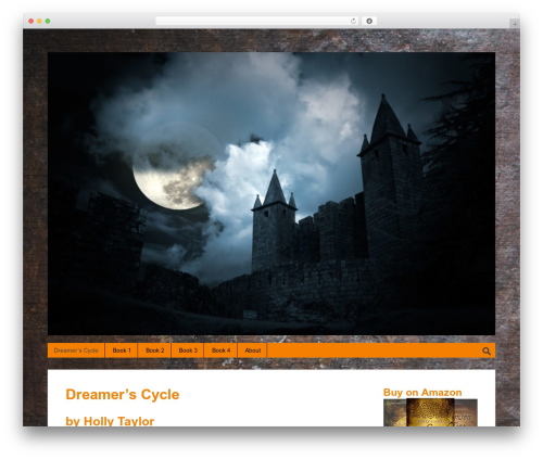 Halloween template WordPress free - dreamers-cycle.com