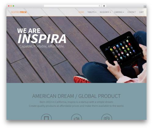 Inspira WordPress theme - inspira-tech.com