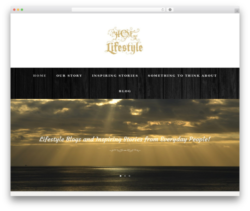 LoveStory WordPress theme - hcmlifestyle.com