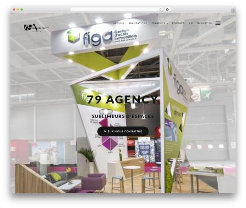 Mies WordPress theme - 79agency.com