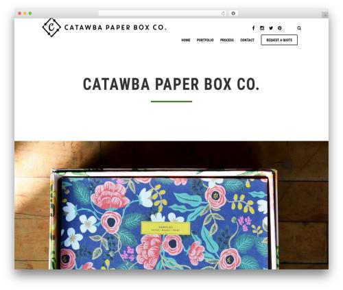 October premium WordPress theme - cpbox.com