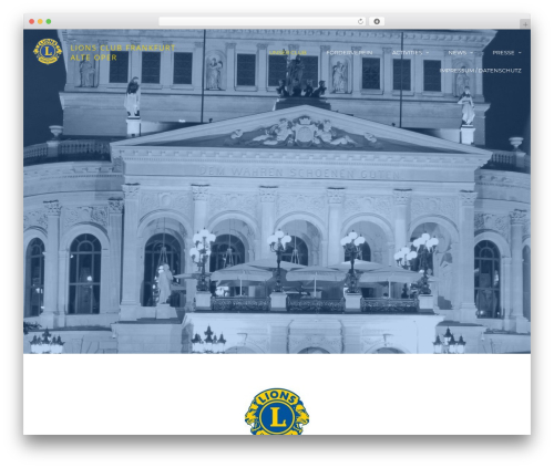Theme WordPress cronus - lcfrankfurtalteoper.com