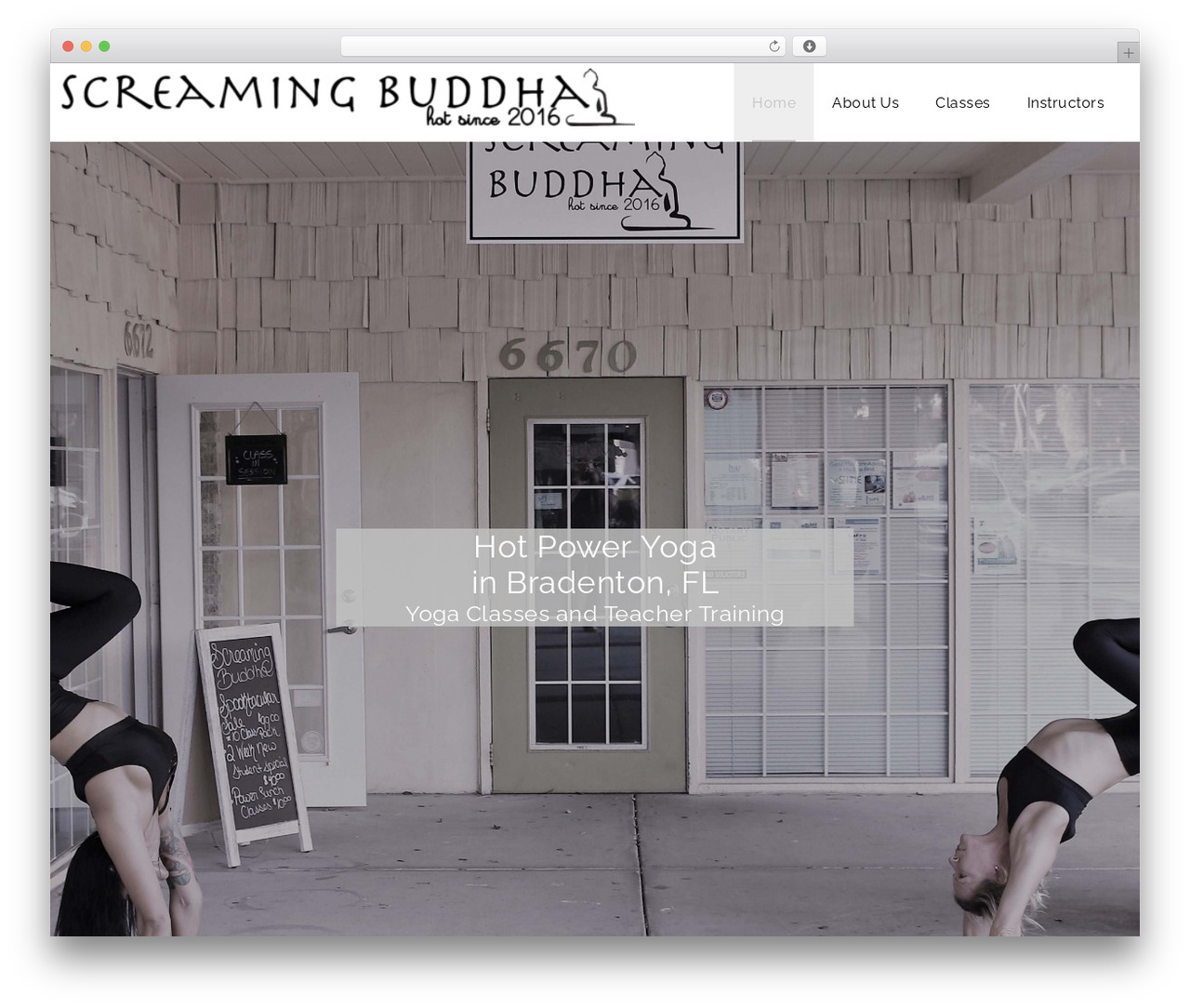 Theme WordPress Veda - screamingbuddha.com