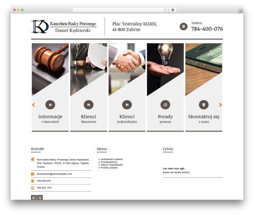 Themis - Law Lawyer Business WordPress Theme company WordPress theme - kancelariadk.com