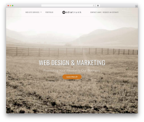 Vela WordPress page template - mediatrunk.com