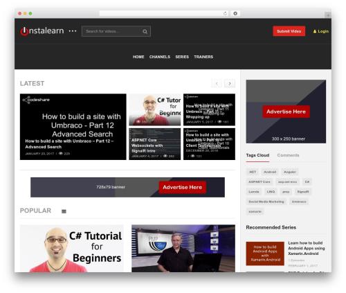 Free WordPress Top 10  – Popular posts plugin for WordPress plugin - instalearn.com