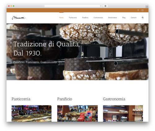 WordPress theme Avada - pasticceriaminiussi.com