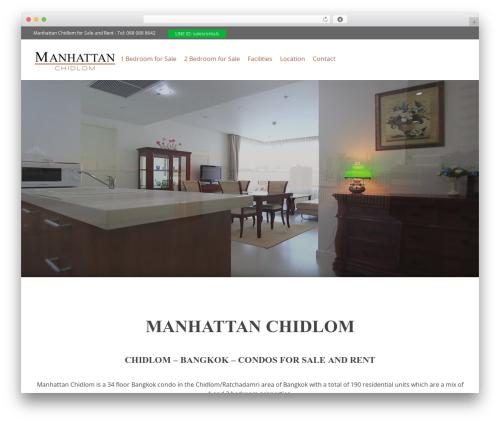 WordPress livicons-shortcodes plugin - manhattan-chidlom.com