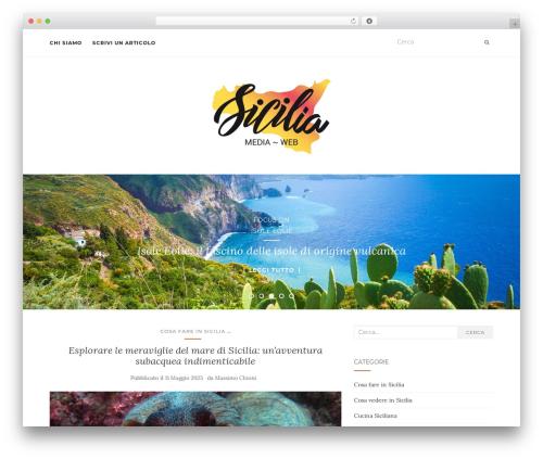 Activello best WordPress template - siciliamediaweb.it