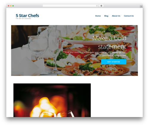 Ascension template WordPress - 5starchefs.com