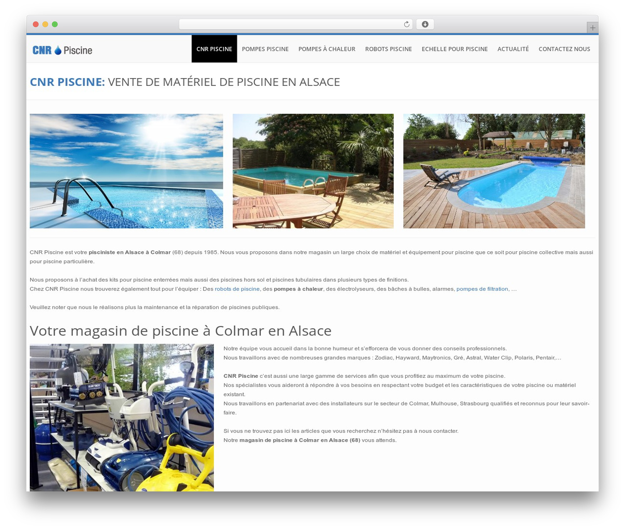 Piscine Hors Sol Colmar builder theme best wordpress themeorangeidea - cnr