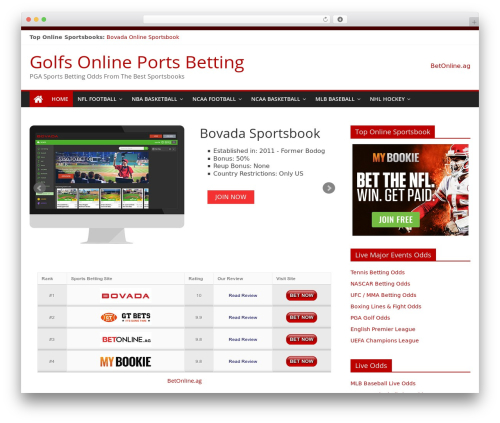 ColorMag WordPress template free - golfsonlineportsbetting.com