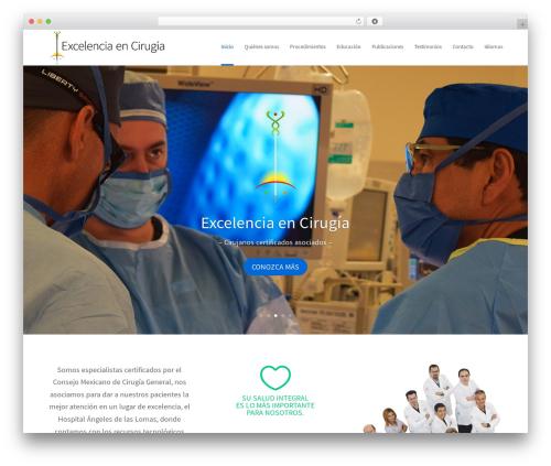 Divi WordPress theme - excelenciaencirugia.com