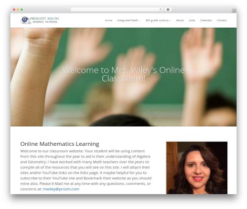 Divi WordPress theme - mrswileysclassroom.com