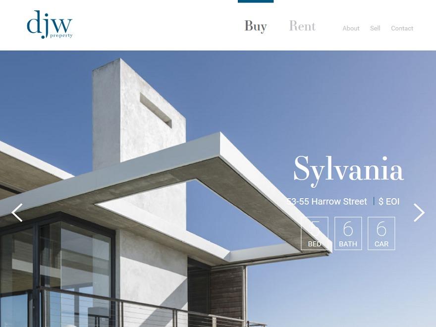 DJW WordPress theme