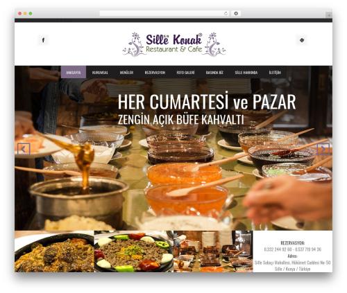 Grill WordPress restaurant theme - sillekonak.com