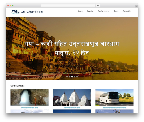 Palm Beach free WP theme - mtchardham.com