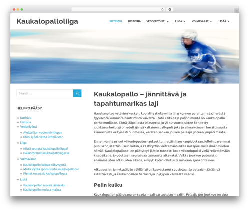 Poseidon template WordPress free - kaukalopalloliiga.com