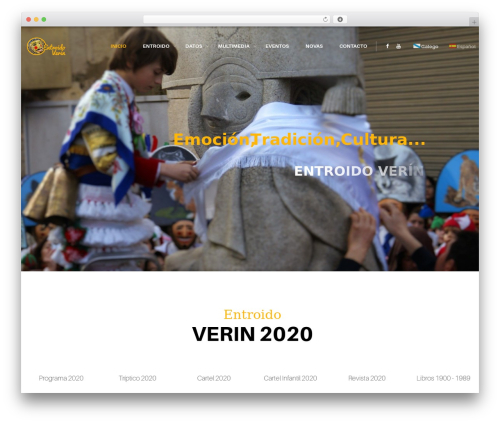 resca template WordPress - carnavaldeverin.com