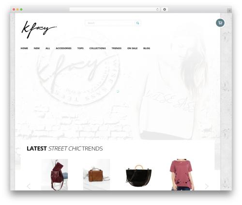 StoreBox theme WordPress - kymberlyfay.com