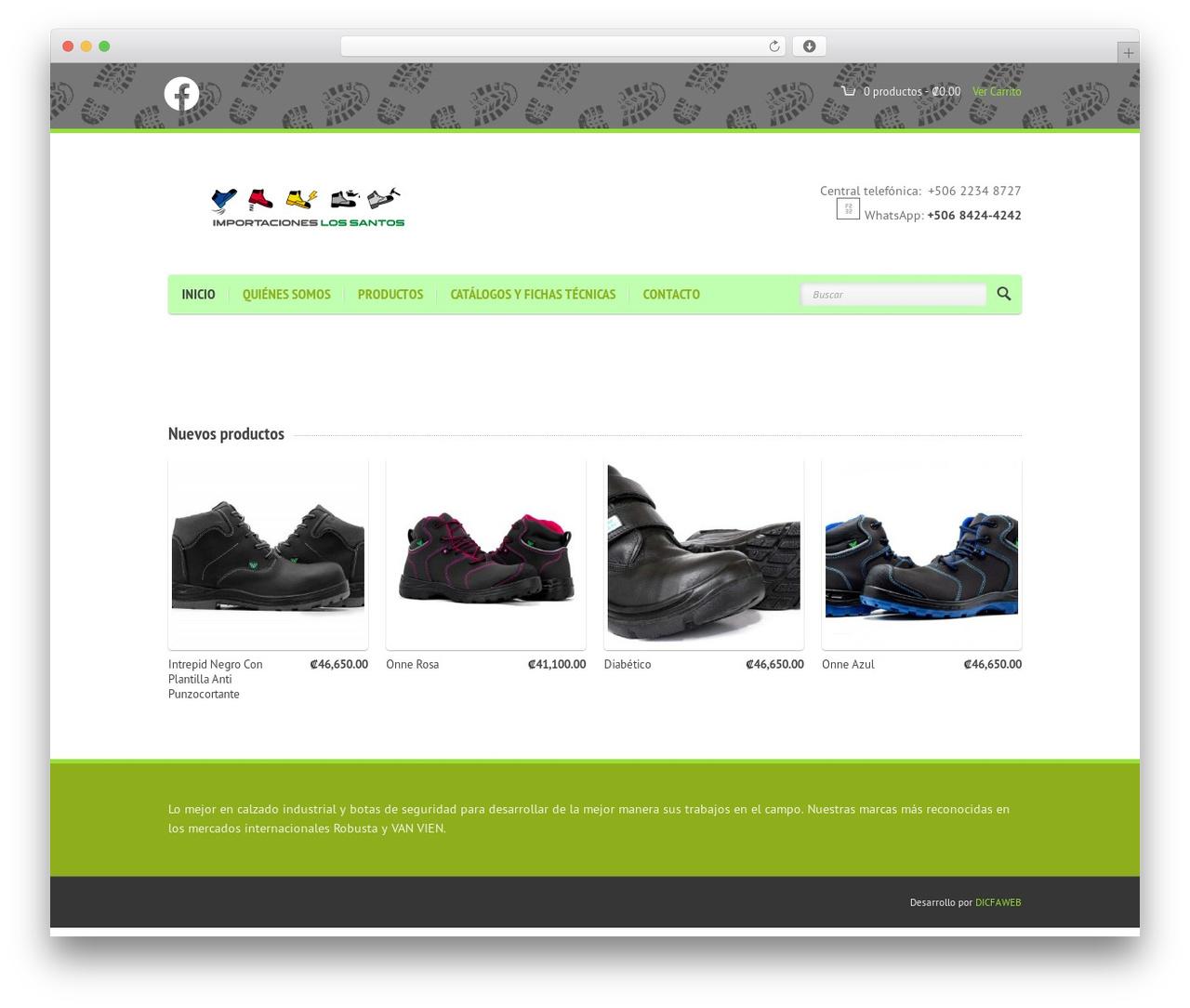 Theme WordPress Agora - importacioneslossantos.com