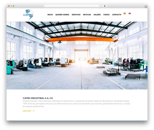 Theme WordPress Global Logistics - cayroind.com