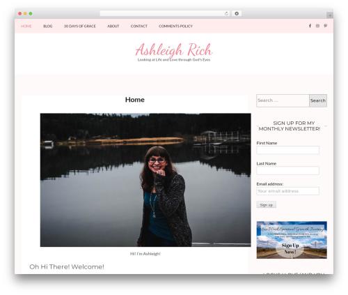 Theme WordPress Kalon - ashleighrich.com