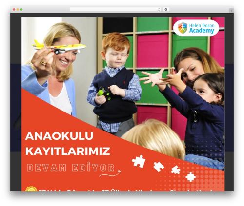 Theme WordPress Kids World - helendoronatasehir.com